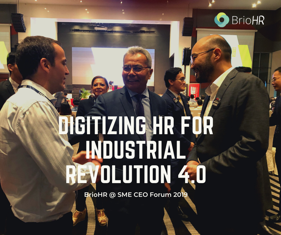 digitizing hr for industrial revolution 4.0